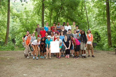 6.27.13 Cleanup Along the Patapsco River in the Orange Grove Section w/UMBC