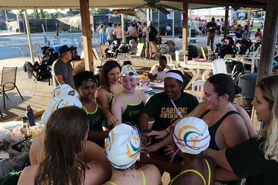 Varsity Swimming - Cluster Meet - 9-25-2019