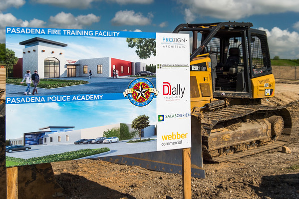 Police and Fire Academy Ground Breaking