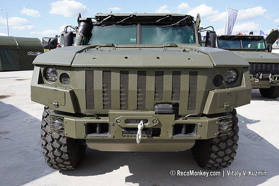 ARMY-2018 - Static displays part 2: Armored vehicles