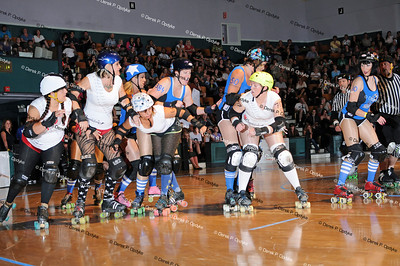 SCDG Bombshells vs. Tuscon - July 21st, 2012