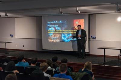 Christopher Scolese NASA Guest Lecture, October 5 2018