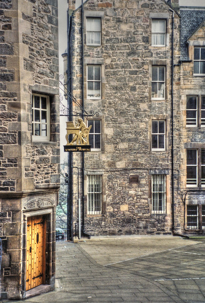 The Writers Museum in Edinburgh, Scotland - 1999