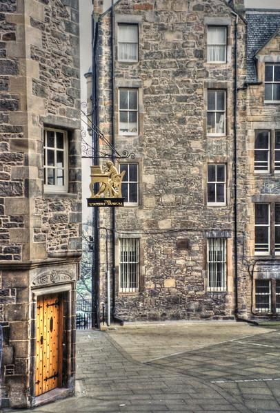 The Writers Museum in Edinburgh, Scotland - 1999