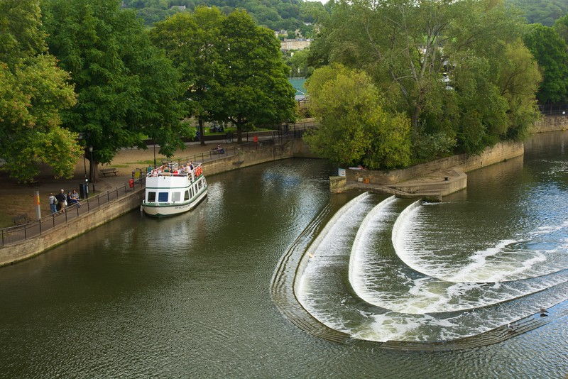 Boat on the Avon River