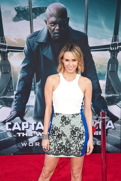 HOLLYWOOD, CA - MARCH 13: Actress Keltie Knight arrives at Marvel's 'Captain America: The Winter Soldier' premiere at the El Capitan Theatre onThursday,  March 13, 2014 in Hollywood, California. (Photo by Tom Sorensen/Moovieboy Pictures)