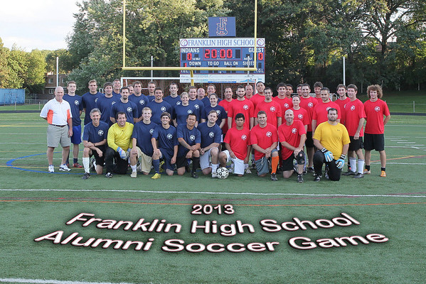 FHS 2013 Alumni Soccer Game