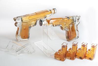 Pistol Gun Decanter