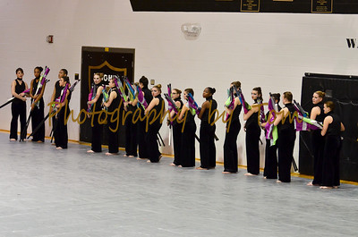 O'Fallon Township HS Winter Guard