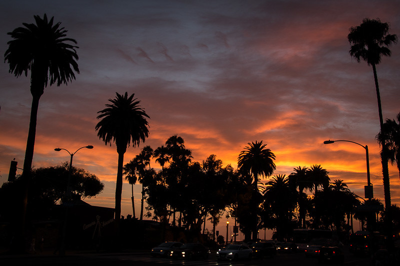 July 25 - Santa Monica sunset.jpg