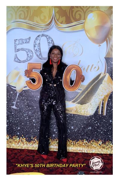 KHYE'S 50TH BIRTHDAY PARTY