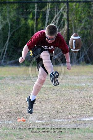 Cougars vs. Veritas 9-27-2011
