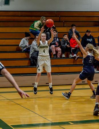 Set three: Girls Varsity Basketball v Cascade Christian 01/15/2019