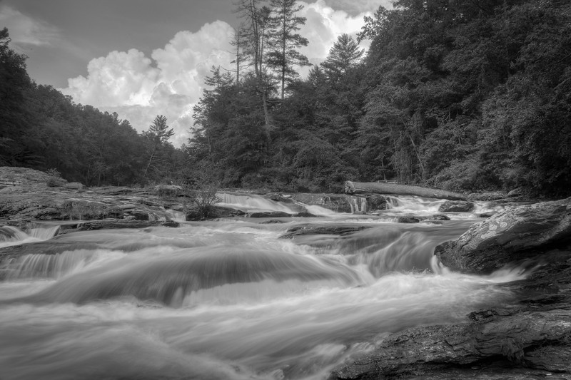 Edge of the World Rapids on the Amicalola River