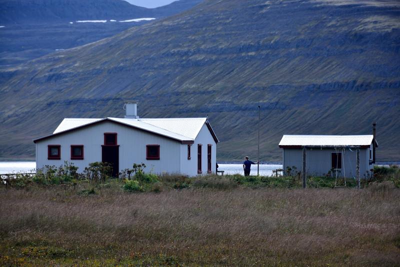 Hornvík. Stíghús 2016.
