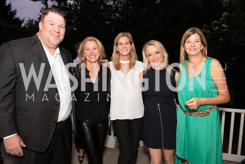 Jones Allen, M, Katherine Weymouth, Kim Wehle, Maya MacGuineas. Photo by Yasmin Holman. Kim Wehle Book Event. Chevy Chase. 09.14.19