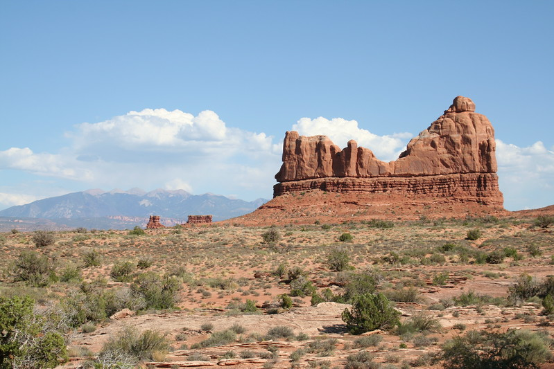 20080908-106 - Arches NP - 94 LaSal Mountains in Background.JPG