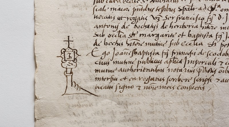 16th-century calligraphy