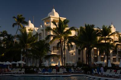 Riu Palace Grounds/Punta Cana/Dominican Republic - Feb., 2015