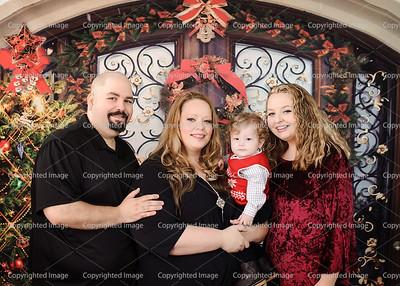 Jessica Rivera Family Christmas 2017