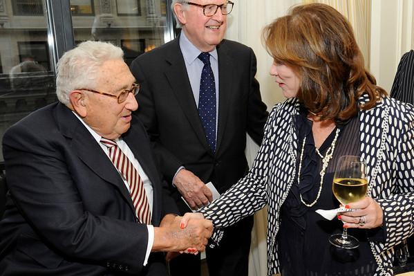 Four Freedoms Park w/ Henry Kissinger