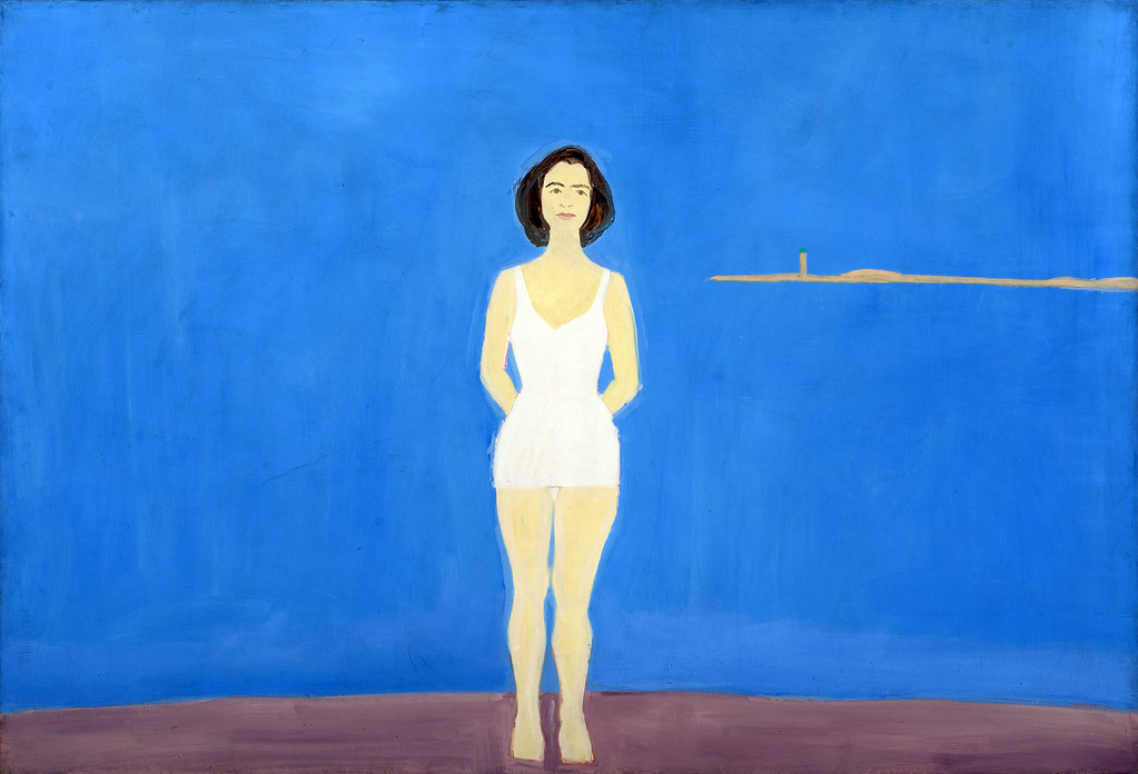 ". Alex Katz�s 1959 painting �Bather� is included in �Brand-New &amp; Terrific: Alex Katz in the 1950s� at the Cleveland Museum of Art. The exhibit continues through Aug. 6. For more information, visit <a href=""http://clevelandart.org/\"">clevelandart.org</a>."
