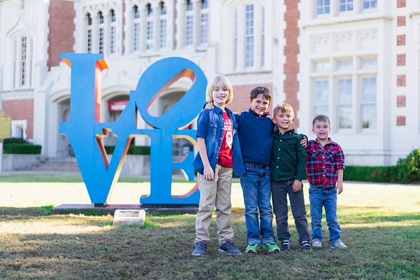 Family Photos at the University of Oklahoma
