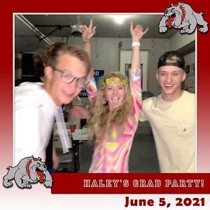 Haley's Grad Party - June 5, 2021