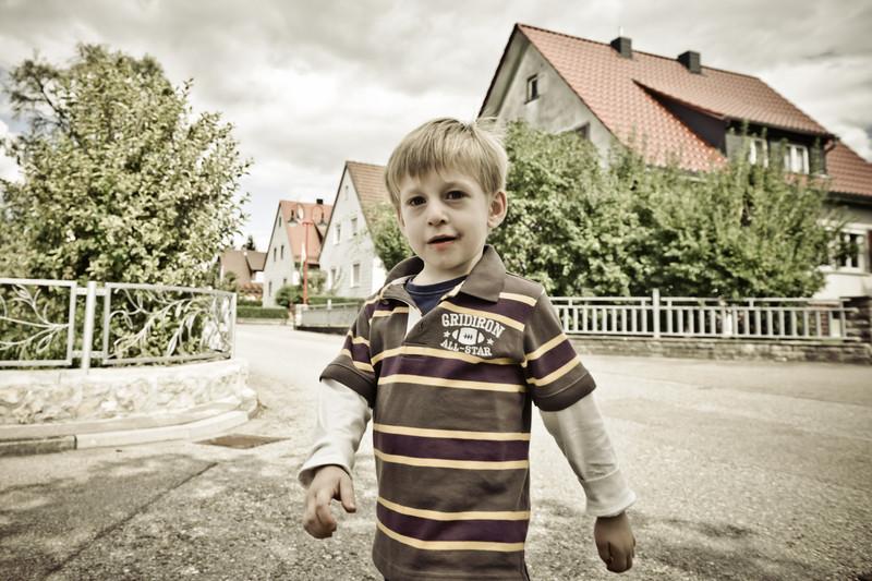 On streets of Ilshofen