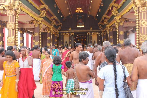 நல்லூர் கந்தசுவாமி ஆலய ஆறாம் திருவிழா.......