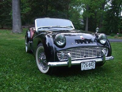 1963 Triumph TR3B # TCF 2719L