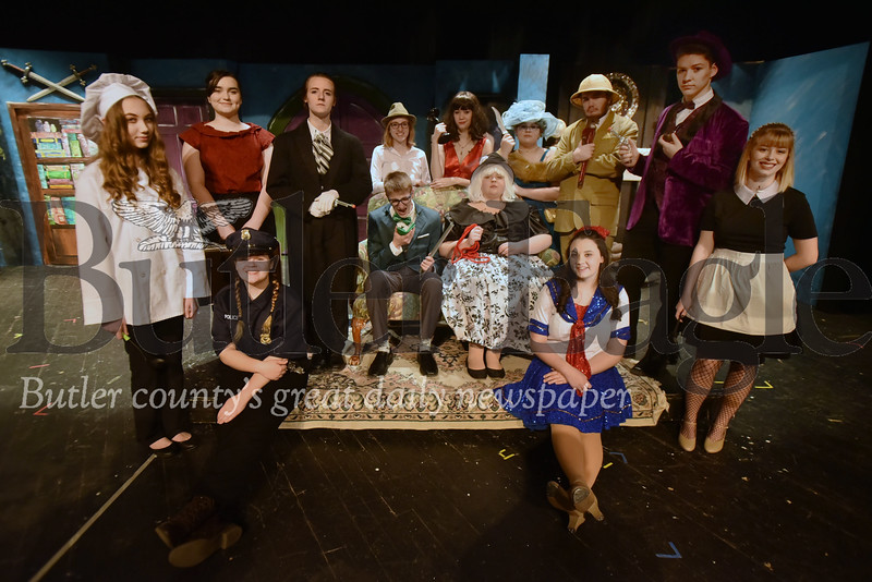 "Knoch High school is performing the play ""Clue"""