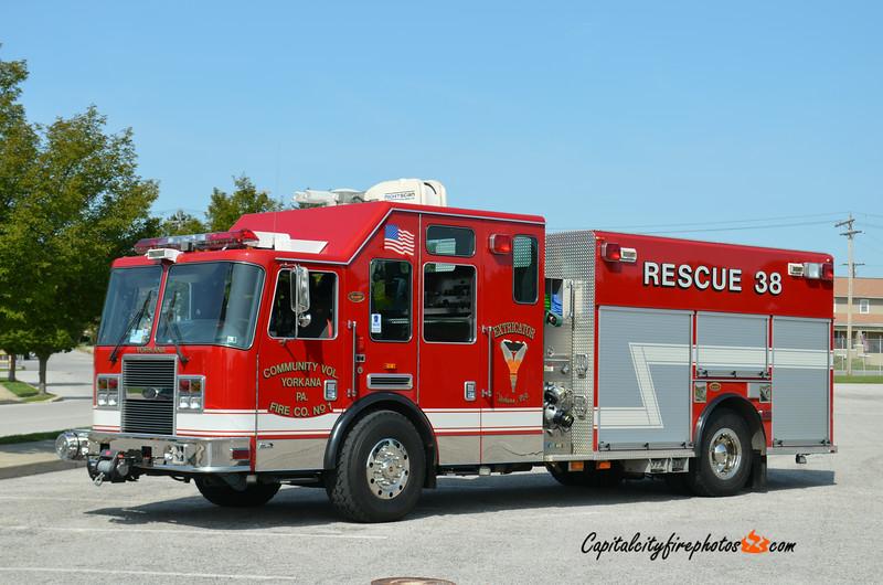 Yorkana Rescue 38: 2006 KME Predator 1500/500