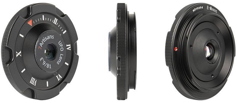 7artisans 18mm f/6.3 cap lens