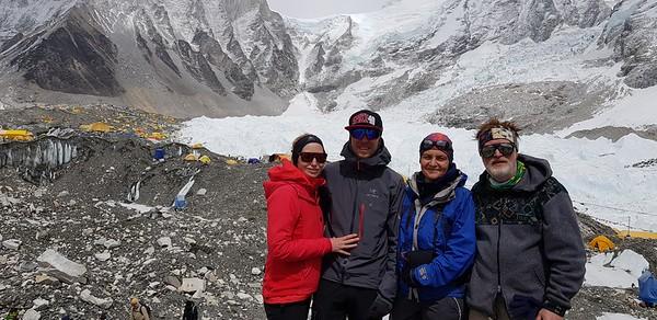 Базовый лагерь Эвереста. Восхождение на Айленд пик
