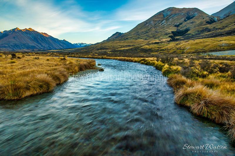 Alpine waterway