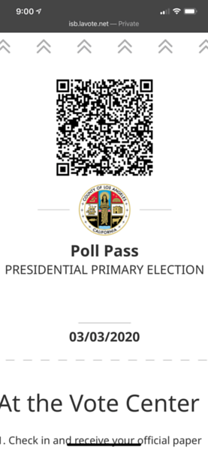 2020.03.02 Presidential primary  election