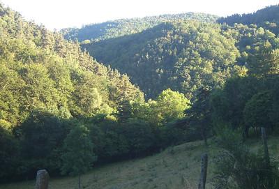 Cantal - Ferrières - sur les hauteurs ... Peyrusse