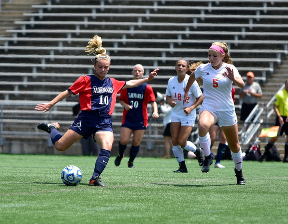Albemarle vs. Mountain View girls soccer state title 2017