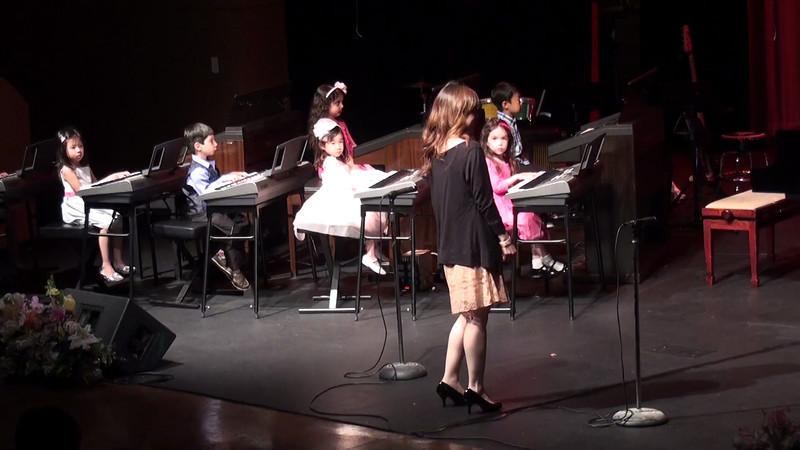 Leah Piano Recital 2012