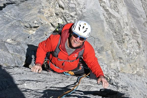 Climbing in the Rockies