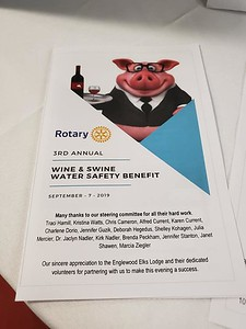 Rotary Wine & Swine 2019
