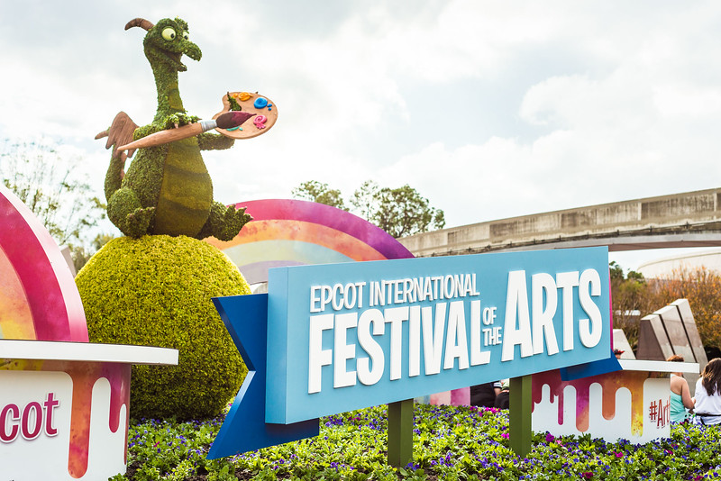 Epcot International Festival of the Arts - Welcome - Magic Kingdom Walt Disney World