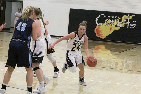 BH girls' basketball versus Unity Christian 1-8-19
