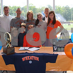 Brook Hill's Langemeier inks football future with Wheaton College