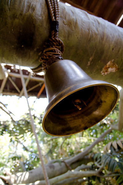 Bell in Tarzan's Treehouse