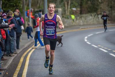 Anglesey Half Marathon - 10K Finish