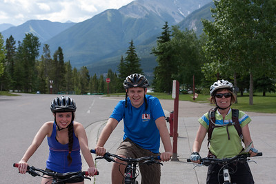 130705 Canmore Nordic cycling