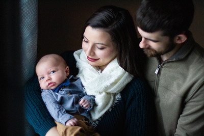 ADKINS | family with newborn