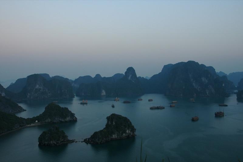 Dusk - Halong Bay, Vietnam